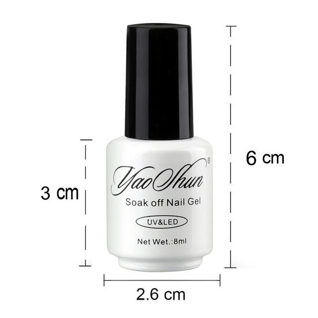 YAOSHUN 1pcs Temperature Change Nail Gel Polish UV Soak Off GEL Hot Sale DIY Nail Art Salon Nail Polish