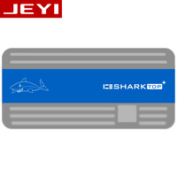 JEYI ICESHARK i9 Hidden Line HDD Enclosure mobile hdd box case NVME TYPE C3.1 JMS583 m. 2 USB3.1 M.2 PCIESSD U.2 M.2 PCI E