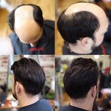 """Прочный тонкий кожаный мужской парик 8X1""""#1b10 волосы V-LOOPED Repace мужчины t волосы протезирование Dolago тонкий PU заменить мужчин t системы волос"""