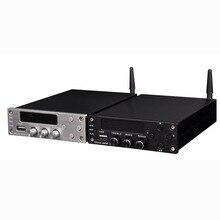 Amplificadores ZHILAI T10 Potencia HIFI Amplificador Digital Bluetooth 4.0 2×70 W AMPLIFICADOR de Audio de Doble Canal + fuente de Alimentación negro/Plata 2017