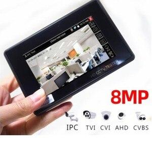 "Image 4 - 8MP wrist 4.0 IP Camera CCTV Tester Monitor 4"" coaxial HD 4K H.265 WIFI hotspot PTZ Control Cable CVI TVI AHD CVBS Camera tester"
