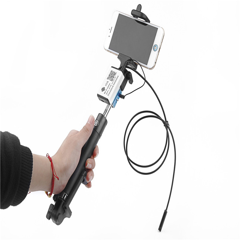 Handheld IOS Android Endoscope 1m / 3.5m / 5m Waterproof IP67 5.5mm Lens USB Wifi Endoscope Mini Camera Detection CameraHandheld IOS Android Endoscope 1m / 3.5m / 5m Waterproof IP67 5.5mm Lens USB Wifi Endoscope Mini Camera Detection Camera