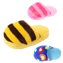 Dog Chew Play Squeaker Toys Puppy Bite Resistant Cotton Toy Pet Products Plush Pet Supplies for Teeth Cleaning