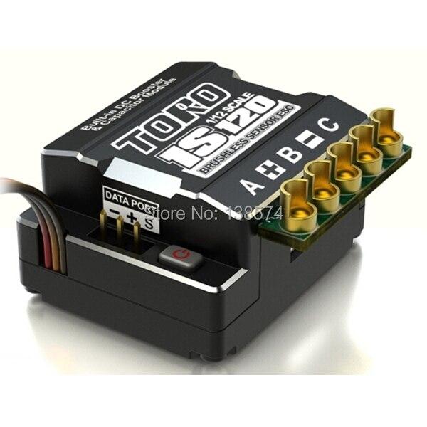 SKYRC Toro 1 S 120A ESC capteur régulateur de vitesse ESC pour RC 1/12 compétition Onroad