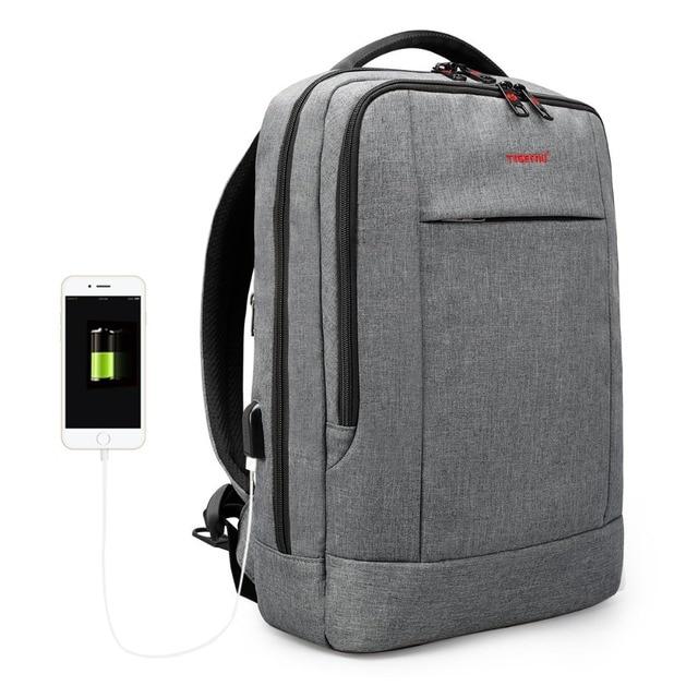 Tigernu USB Charger15.6 inch Laptop Backpack Women Men Slim Laptop Backpacks Bags Men Casual Daily School Bag for Teenagers 5