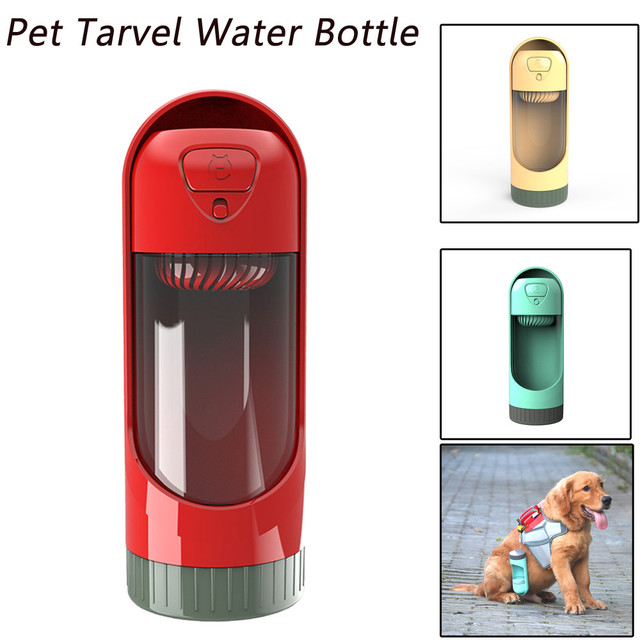 2018 Novo Animal de Estimação Dispensador Garrafa De Água de Viagem Portátil Ao Ar Livre do animal de Estimação Cão Bebedouro # NE905