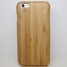 Sunjolly Ретро настоящий природный чистый дерево кейс бамбука крышка bambu Мадейра Fundas Carcasa деревянный Коке для iPhone 7 Plus 6 /6 S Plus