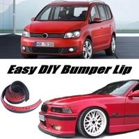 Bumper Lip Deflector Lips For Volkswagen VW Touran Front Spoiler Skirt For Car View Tuning / Body Kit / Strip