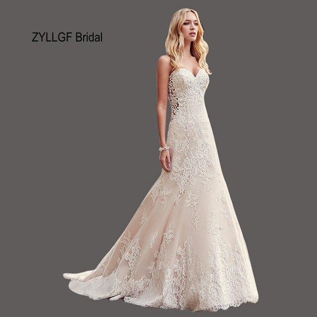 ZYLLGF Braut Schatz Hochzeitskleid Neuesten Designs 2017 ...