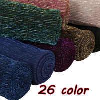 Laven Lurex glitter scarves plain pleat shimmer elastic long fashion scarf crinkle hijab wraps muslim shawls 26 color 10pcs/lot