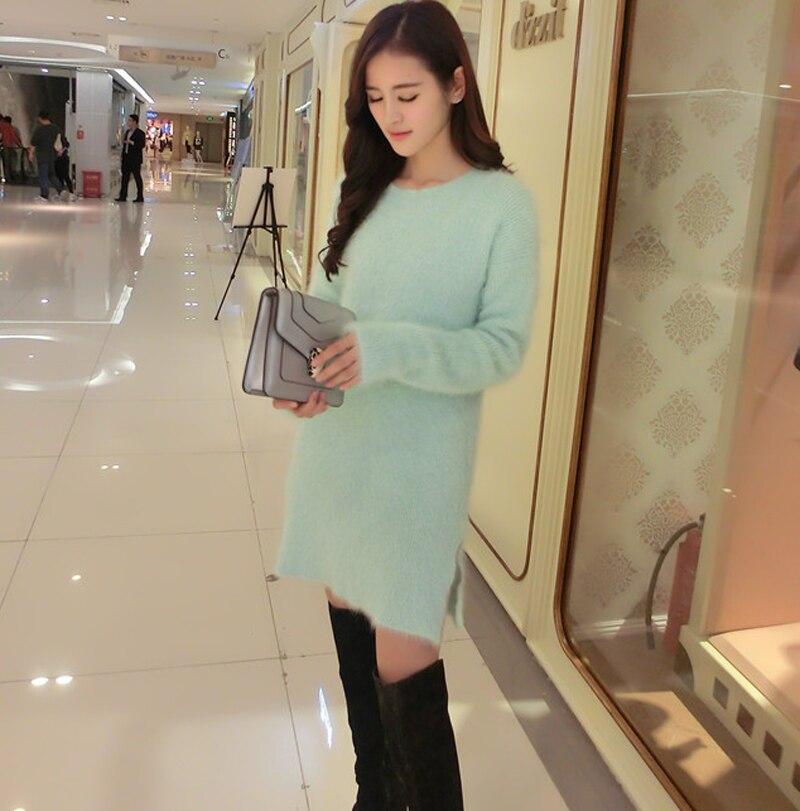 LOVELYDONKEY խոզանակ կաշմիրով սվիտեր - Կանացի հագուստ