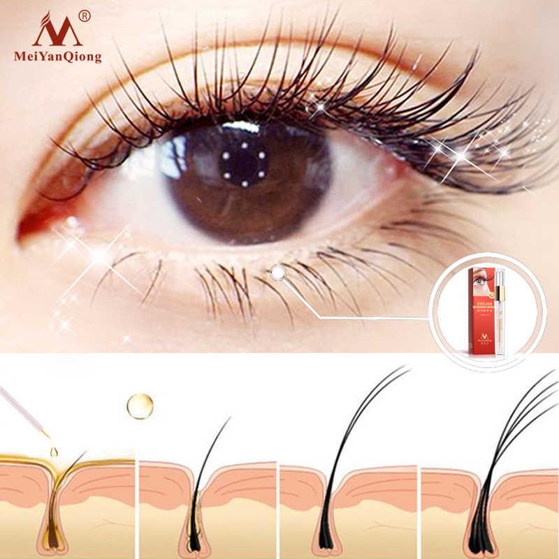 Trattamenti di Crescita Delle Ciglia a base di erbe Liquido Siero Enhancer Sferza Dell'occhio Più Spessa meglio di Estensione Del Ciglio Potente Trucco