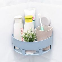 Wheat Straw Kitchen Seamless Triangle Holder Shelf Nordic Bathroom Storage Shelf