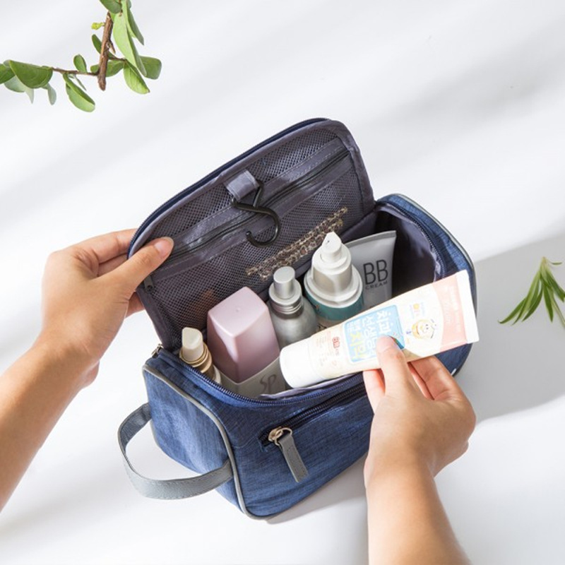 2d08bc259226 Portable Large Capacity Waterproof Man Nylon Travel Wash Bag Cosmetic Bag  Men s Bath Make Up Bag Toiletry Organizer Case free shipping worldwide