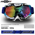 NENKI Men Women Motocross Goggles Visor Glasses Motos Off-Road Dirt Bike Casco Gafas Casque Motorcycle Racing Eyewear