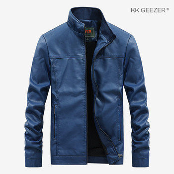 Jacket Men Embroidery Baseball Jackets Autumn Pu Leather Coats Slim Fit College Luxury Fleece Camp Bomber Black Pilot Jackets