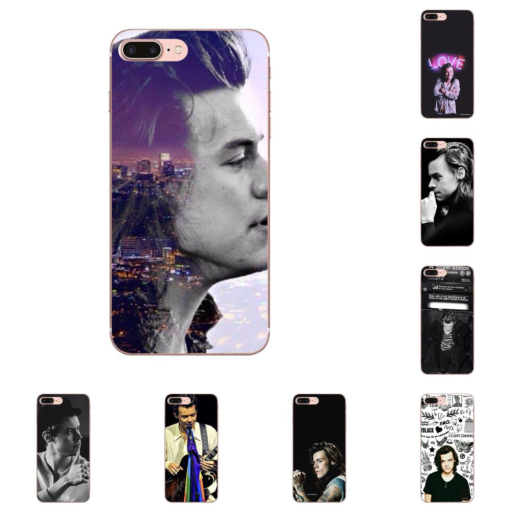 One Direction <font><b>Harry</b></font> <font><b>Styles</b></font> For <font><b>Samsung</b></font> Galaxy Note 5 8 9 S3 S4 <font><b>S5</b></font> S6 S7 S8 S9 S10 mini Edge Plus Lite TPU <font><b>Phone</b></font> <font><b>Cases</b></font> image