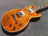 hot selling LP slash sogmature electric guitar wth gold top guitar good quality