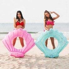 Детская одежда на рост 80, 90/110 см блесток надувной оболочки Плавание ming кольцо для Для женщин летние пляжные вечерние Плавание бассейн круг плавающий плот детские игрушки для игры в воде