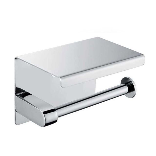 SUS304 Stainless Steel Toilet Tissue Paper Holder Cell Phone Holder Wall Mounted Chrome Finish  sc 1 st  AliExpress.com & SUS304 Stainless Steel Toilet Tissue Paper Holder Cell Phone Holder ...