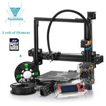 2017 Impresora 3D Diy Принтер Tevo Тарантул I3 3d-принтер Single/Dual экструдер 3D Принтер Комплект ЖК SD Карты и два рулона Нити