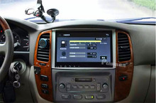 Для 10.2 «Quad Core 16 ГБ Android 4.4 Автомобильный DVD Радио GPS Навигация для Toyota Land Cruiser 100 LC100 Высокий уровень Lexus IX470 WI-FI