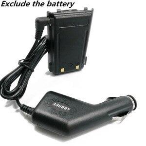Image 2 - Baofeng 12 36 в вход 8,4 в выход грузовик автомобильное зарядное устройство кабель для Baofeng Walkie Talkie BF UVB3 Plus UV S9 3800mah батарея
