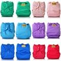 JinoBaby Onesize Baby Reusable Nappies,1PCS Cloth Diaper+4PCS Bamboo Inserts Cloth Nappies