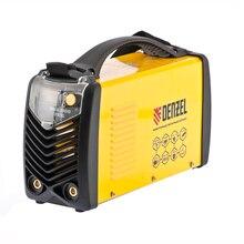 Аппарат сварочный инверторный DENZEL 94348 (мощность 6700 Вт, диапазон тока 20-220 А, диаметр электрода 1.6-5 мм, цикл работы 60%)
