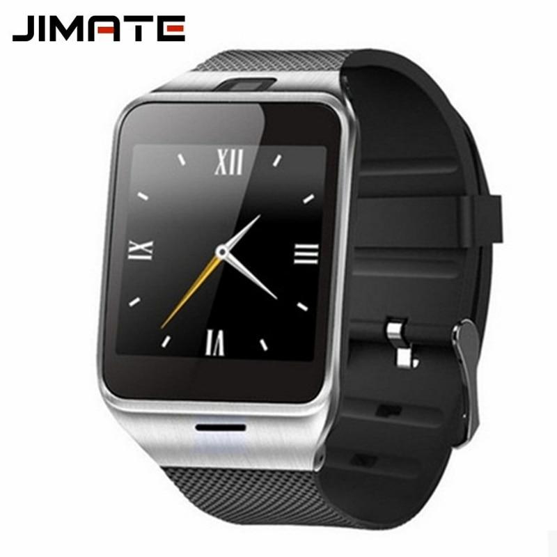 GV18 Podomètre Montre Smart Watch Soutien SIM TF Carte Bluetooth Horloge  Électronique Poignet Montre Téléphone Pour Android Smartphone Smartwatch 6c329a6e02c
