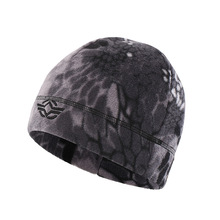 60 см эластичная зимняя охотничья езда Рыбалка теплая тактическая флисовая кепка мужская уличная спортивная Беговая альпинистская ветрозащитная камуфляжная шапка