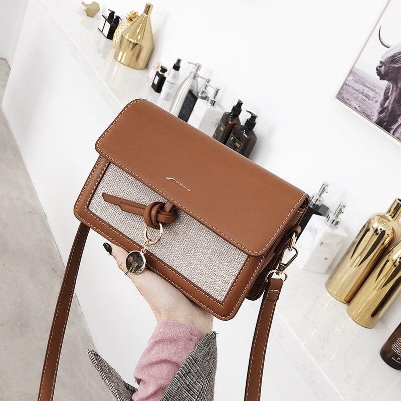 2018 nouvelle tendance sacs à main rétro simple flap sac à bandoulière Saluant