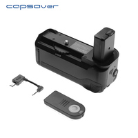 capsaver Vertical Battery Grip for Sony A6000 Professional Multi power Battery Holder Work with NP FW50 Remote Control