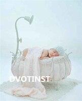 Dvotinstทารกแรกเกิดการถ่ายภาพอุปกรณ์ประกอบฉากเหล็ก