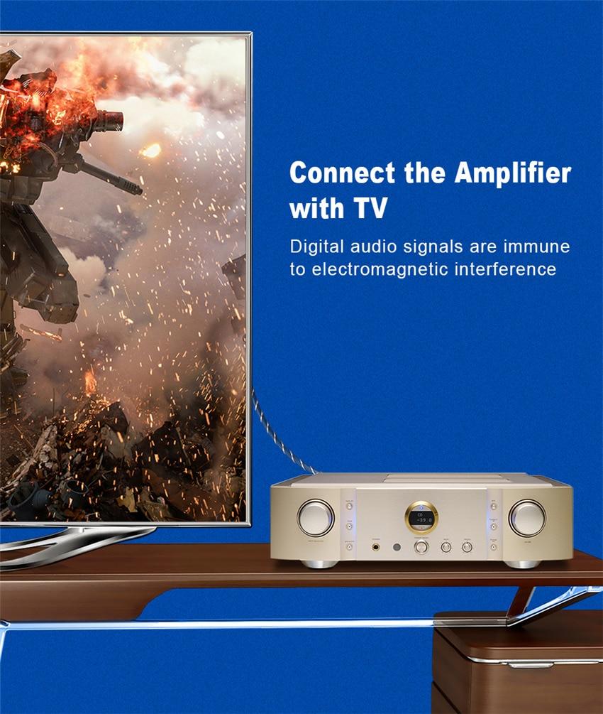 EMK Digital Optical Audio Toslink Cable Fiber Optic Audio Cable 1m 2m 3m 10m 15m for Hi-Fi DVD TV (7)