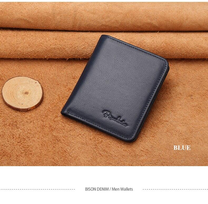 couro genuíno carteiras masculinas fino masculino carteira