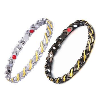 New Arrival zdrowe magnetyczne odchudzanie bransoletka dla kobiet moc germanu magnesy bransoletki bransoletki dla kobiet mężczyzn tanie i dobre opinie Pierścień magnetyczny toe 299217 Utrata masy ciała kremy 0 020