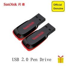 SanDisk CZ50 USB flash drive 128GB USB Pen Drives 32GB 64Gb 8GB 16GB USB 2.zero reminiscence stick PenDrive Help Official Verification