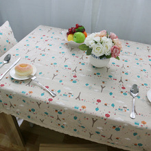 Small Tower Table Cloth Rectangular European Classic Style Lace Tablecloth  High Quality Cotton Linen Multi Function Table Cloths