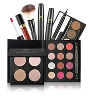 hot makeup set top quality eyeliner gel + eye shadow brush + eyeliner cosmetics kit for make up beauty