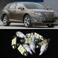 Бесплатная Доставка!! #11 9x Белый СВЕТОДИОДНЫЕ Фонари Интерьер Пакет Комплект 2009-2012 Venza Для Toyota