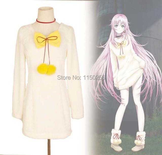 Anime K K-project Neko Cosplay Costume Kawaii Girls Halloween Costume Dress  New Free Shipping