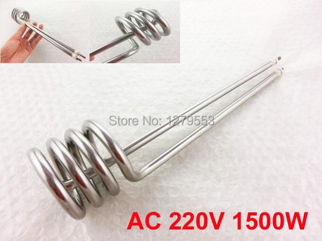 AC 220 V 1500 W Riscaldatore Ad Immersione Elemento Riscaldante per  L industria b5e5067fc75