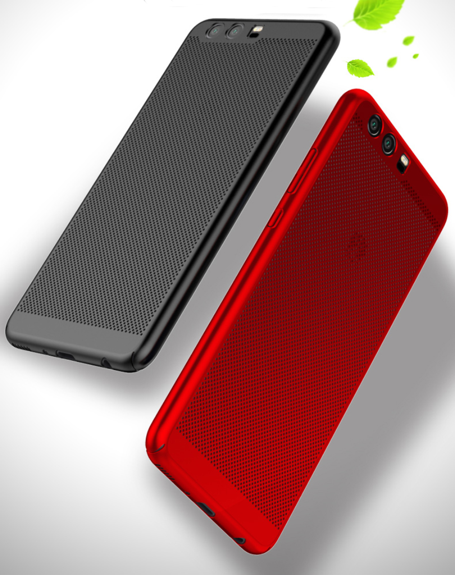 Heat dissipation PC Cover Case Phone Back Case Protective Shell Capa For Huawei P10 Lite Plus For Honor 8 9 Y5 II Y3 Y6