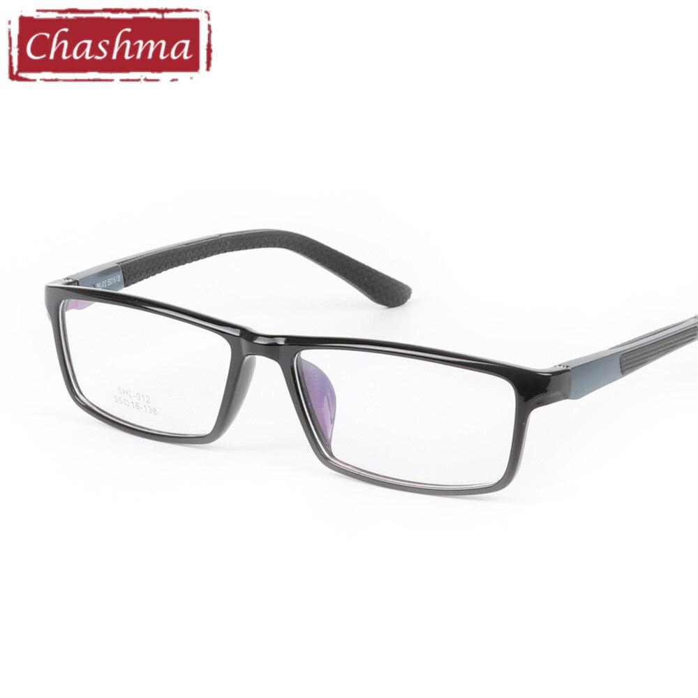 5dfa4e1508 Chashma marca marco completo estilo deportivo gafas antideslizantes goma  templo aluminio magnesio moda personalidad gafas marco hombre