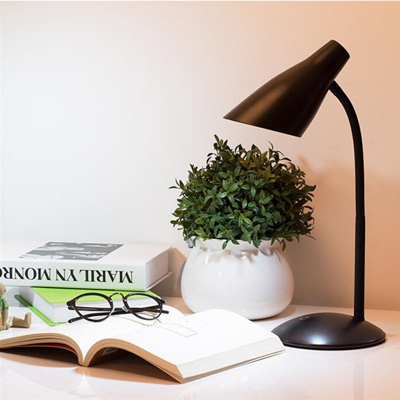 Светодиодный настольная лампа 3 уровня диммер и Цвет Touch Управление защита глаз гибкие прикроватные чтение исследование стол офисный свет