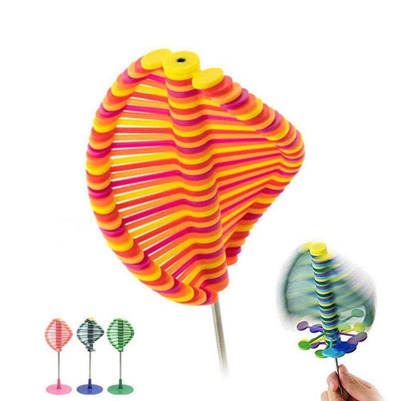 New Style Gadgets Magic Rotating Spin Toy Stress Relief Toys Creative Decompression Toy Rotating Lollipop For Children Adult