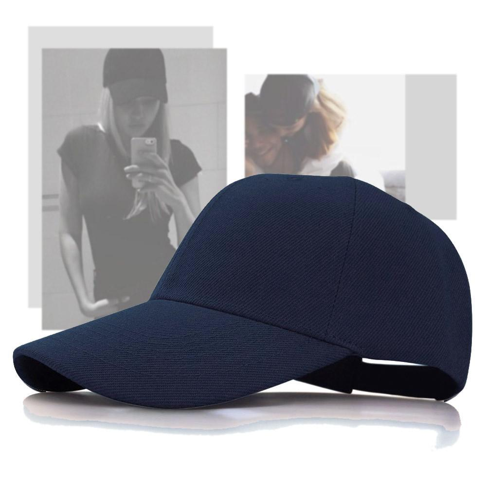 Summer   Baseball     Cap   Women Men's Fashion Brand Street Hip Hop Adjustable Unisex   Caps   Suede Hats for Men Dark Blue Snapback   Caps