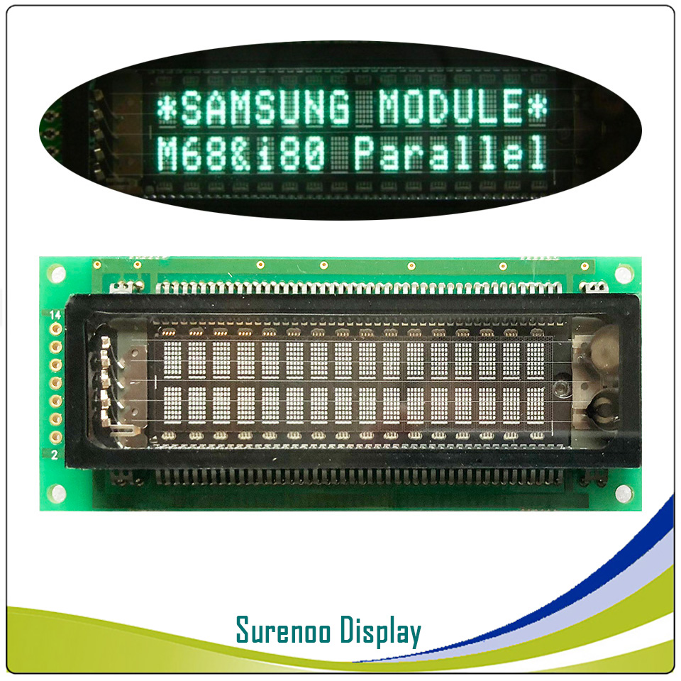 Original And Brand New SAMSUNG 16T202DA1J 1602 162 16X2 VFD Display LCD Module Screen