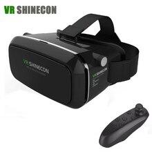 RealtAVIrtuale OcchIalIVR 2 Google cartone Shinecon 3D BIcchieri VR VR Auricolare Smartphone + Controller Bluetooth